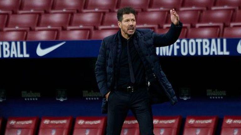 Диего Симеоне с мач №500 начело на Атлетико Мадрид