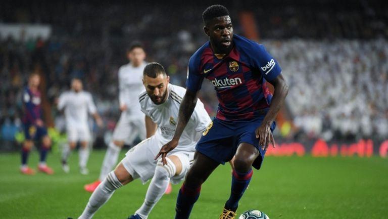 Евертън ще опита да вземе защитник от Барселона