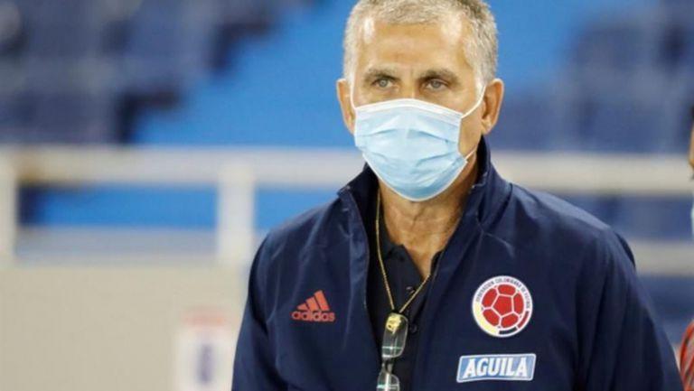 Карлош Кейрош вече не е селекционер на Колумбия