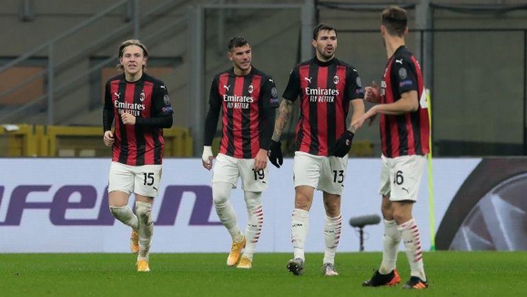 Милан с голям обрат след шокиращо начало (видео)