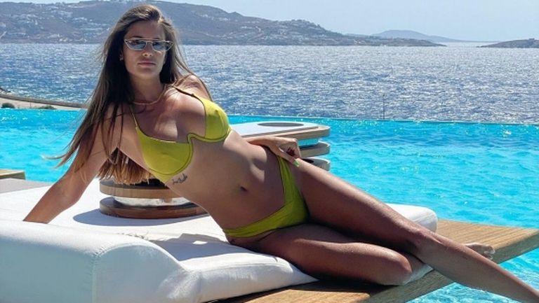 Мис Испания теши футболист на Лацио (снимки)