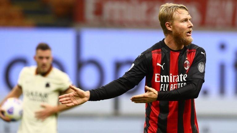 Защитник на Милан е с мускулна травма