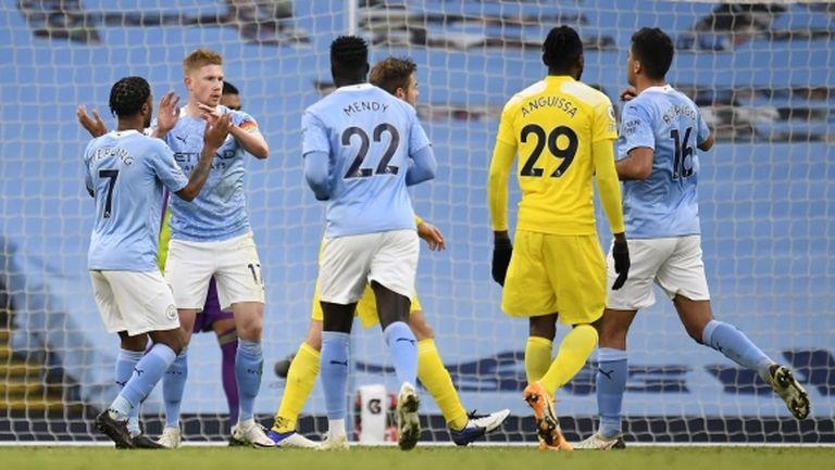 Манчестър Сити влезе в четворката (видео)