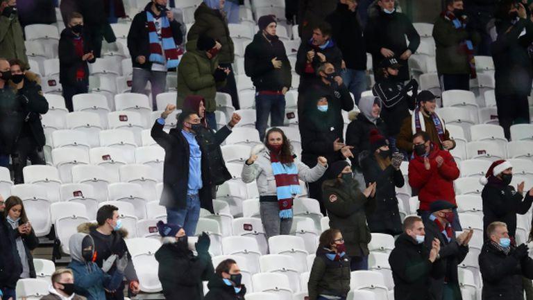 В Англия са готови за следващата стъпка спрямо феновете на стадиона