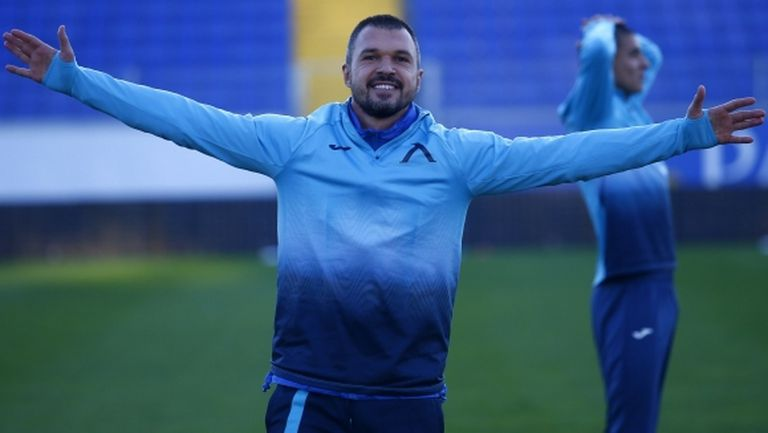 Божинов: Искам да видя очите на тигъра и да стана шампион с Левски!