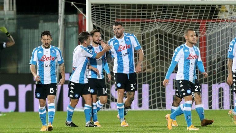 Ново 4:0 за Наполи, този път срещу последния (видео)