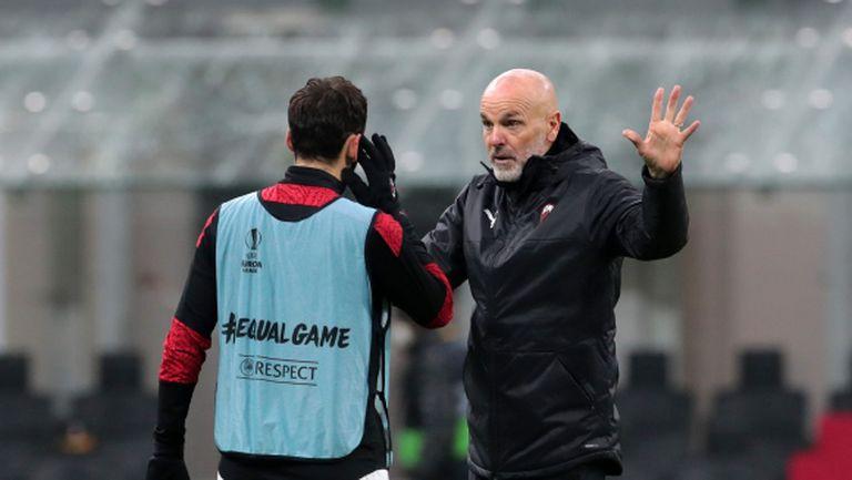 Пиоли: Милан е истински отбор, изненадан съм от зрелостта на играчите