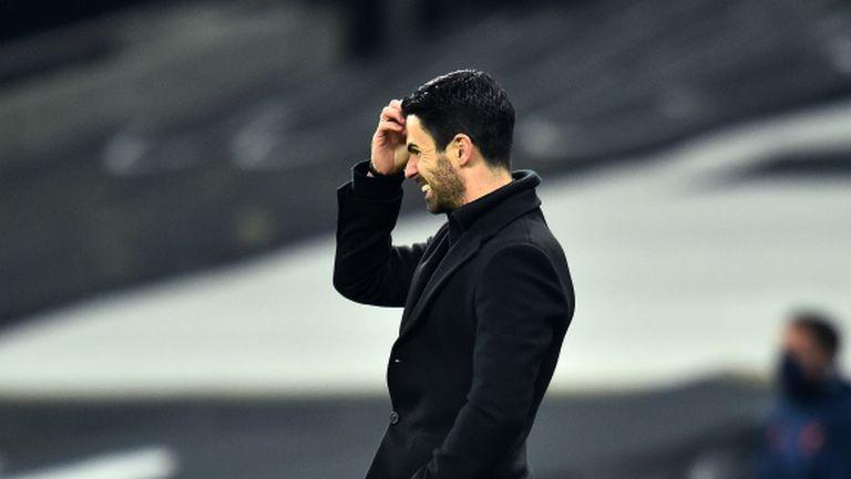 Трой Дийни: Работата на Артета ще е под въпрос, ако Арсенал не бият Бърнли