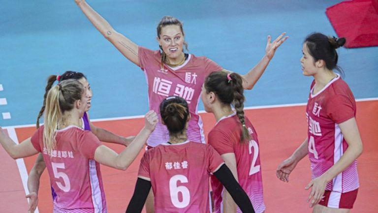 Добриана Рабаджиева с 20 точки, Гуанджоу тръгна с категорична победа във финалната шестица