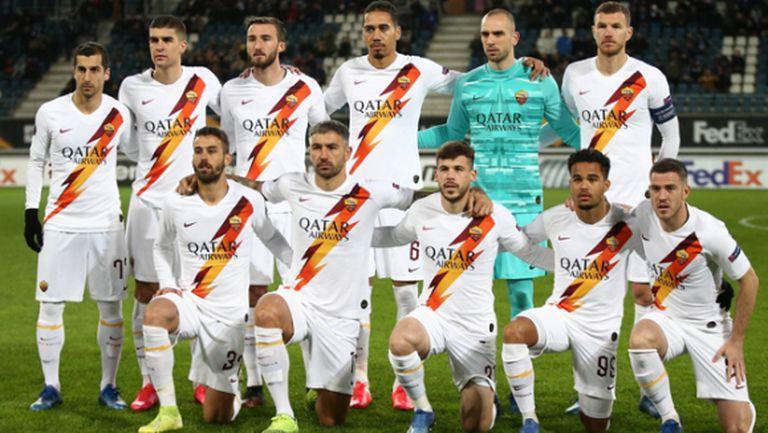 Рома идва в София без няколко основни футболисти
