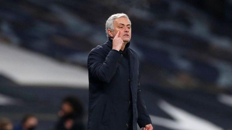 Моуриньо коментира отиването на Манчестър Юн в Лига Европа