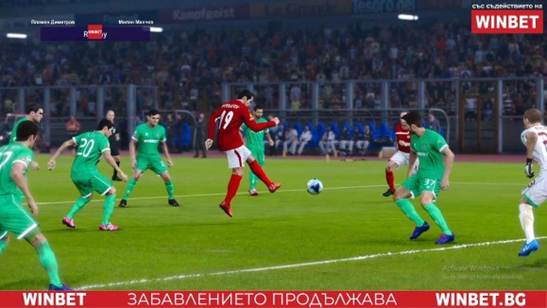 Ретро ЦСКА с нова забележителна победа в WINBET e-футбол лига