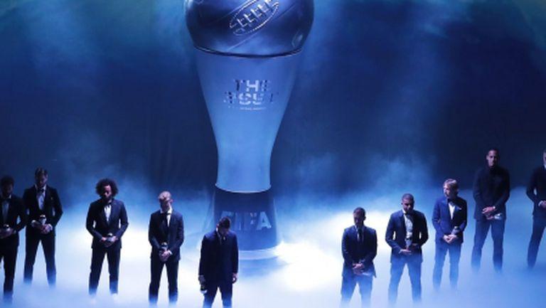 ФИФА номинира 55-има футболисти за Идеалния отбор