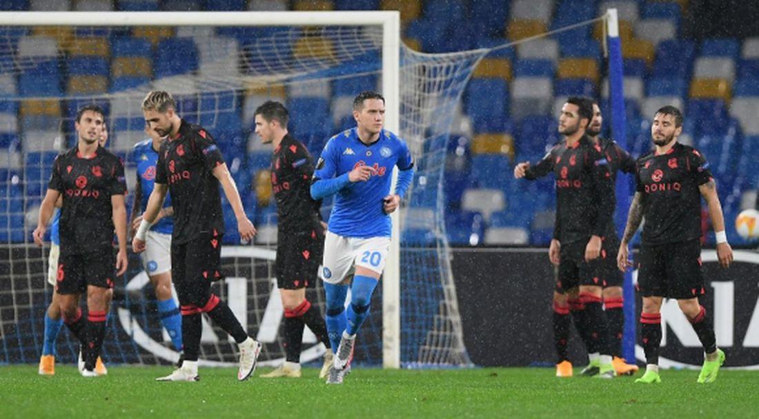 """Дебютно """"Диего Марадона"""" донесе радост и на Наполи, и на Реал Сосиедад (видео)"""