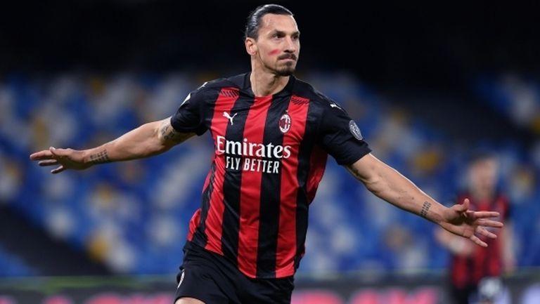 Златан: Милан е в невероятна форма, но не е спечелил нищо