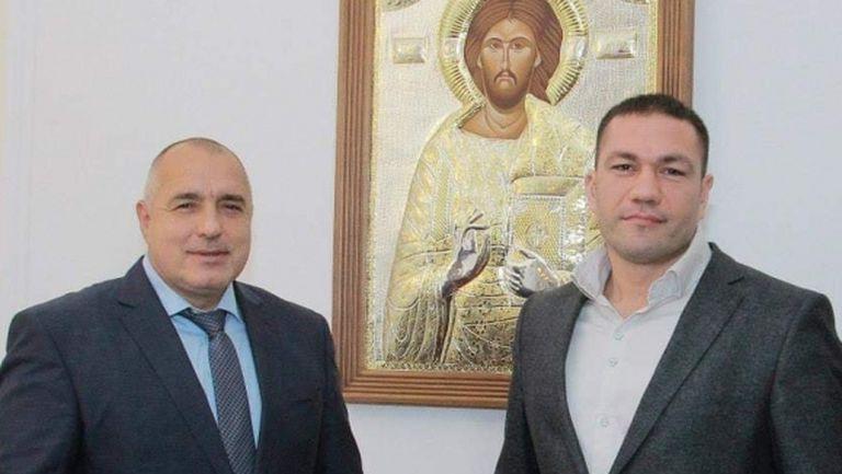 Бойко Борисов надъха Кубрат Пулев