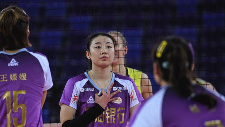 Доби Рабаджиева и Гуанджоу загубиха полуфинал №1 в Китай (снимки)