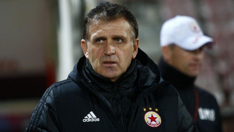 Акрапович: Искам да водя ЦСКА срещу Тотнъм и този път да ги бия