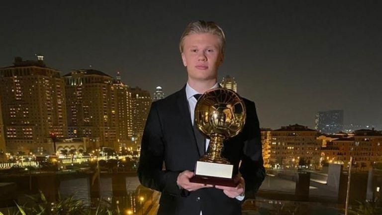 Ерлинг Холанд получи наградата Golden Boy