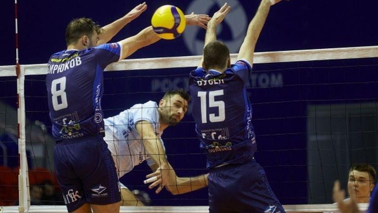 Цветан Соколов отново в Идеалния отбор на кръга в Суперлигата на Русия