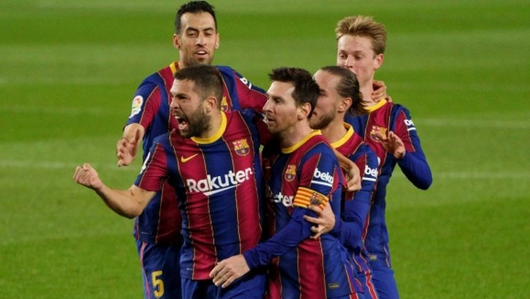 Барселона повали лидера в Испания (видео)