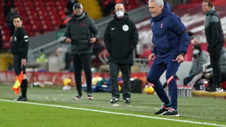 Моуриньо след 1:2 срещу Ливърпул: По-добрият отбор загуби