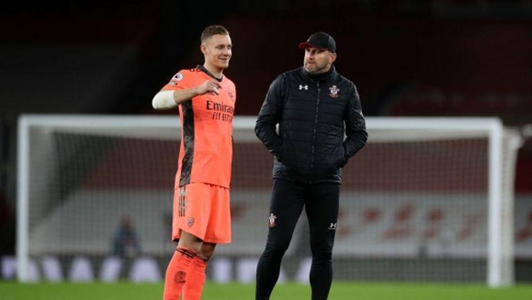 Лено: Не Артета, а футболистите на Арсенал са отговорни за резултатите
