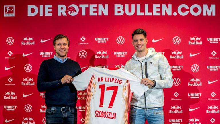 Официално: РБ (Лайпциг) взе 18-и футболист от Ред Бул (Залцбург)