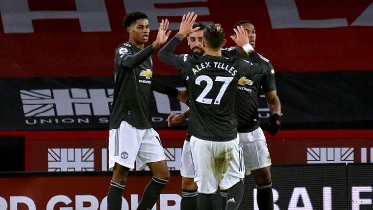 Ман Юнайтед подобри любопитен рекорд