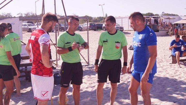 България ще има повече международни съдии по плажен футбол от догодина