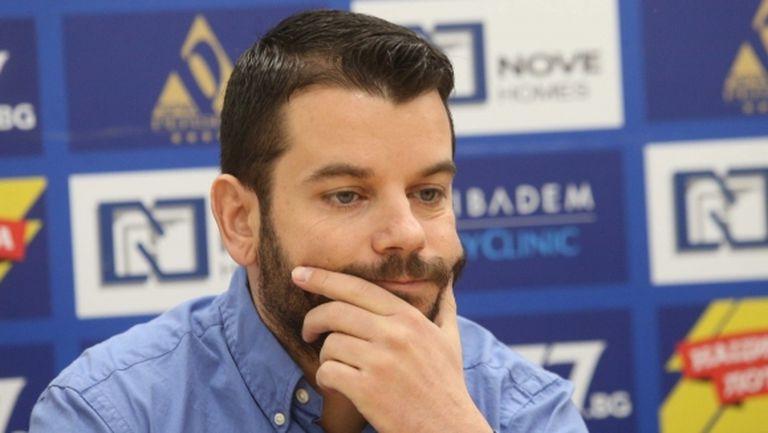 Иван Христов: Занев да не се заканва, играе в нещо средно между ЦСКА и Литекс