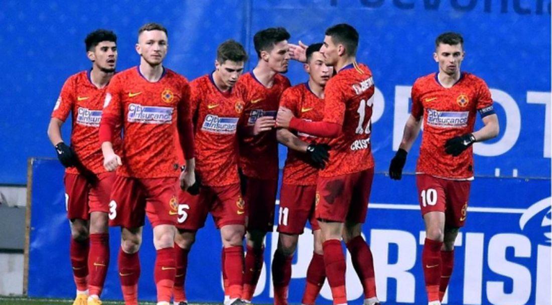 ФКСБ взе дербито с Университатя в Румъния
