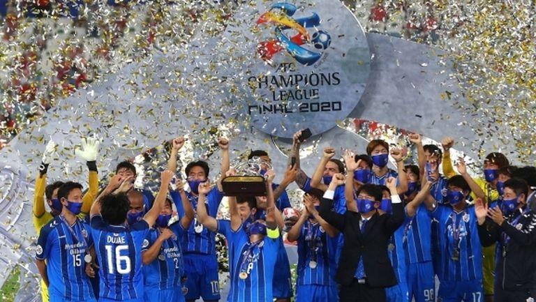 Бивш играч на Литекс вдигна трофея в азиатската Шампионска лига