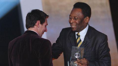 Пеле към Меси: Поздравления за историческия рекорд, Лионел! Възхищавам ти се