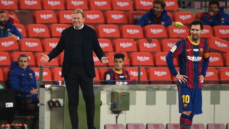 Временният президент на Барселона не възнамерява да уволнява Куман