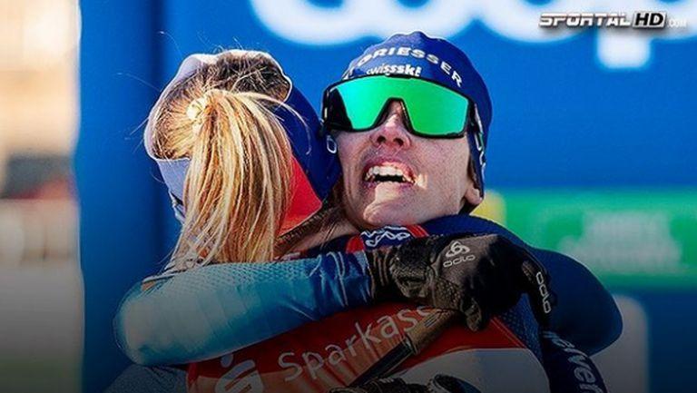 Швейцария спечели отборния спринт при жените в Дрезден