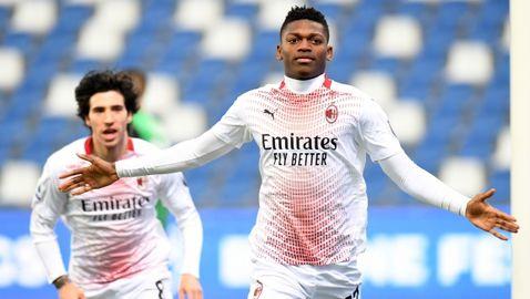"""Милан се върна към победите, нападател на """"росонерите"""" с европейски рекорд (видео)"""