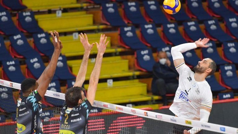 Матей Казийски и Верона играха силно, но не спряха Вилфредо Леон и Перуджа (видео + снимки)