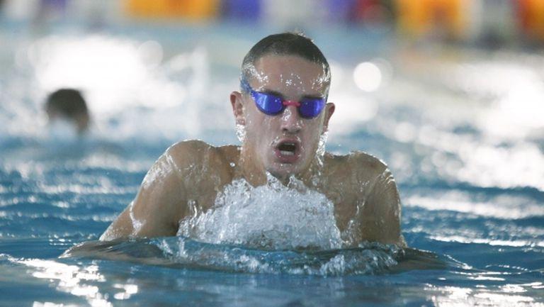 Йордан Янчев с национален рекорд на 200 метра свободен стил