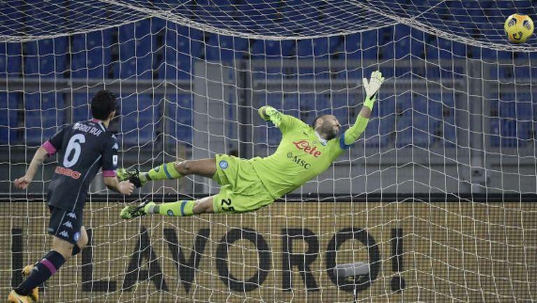 Лацио взе ценна победа срещу Наполи (видео)