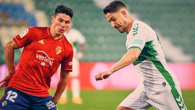 Елче и Осасуна отново останаха без победа в Ла Лига (видео)