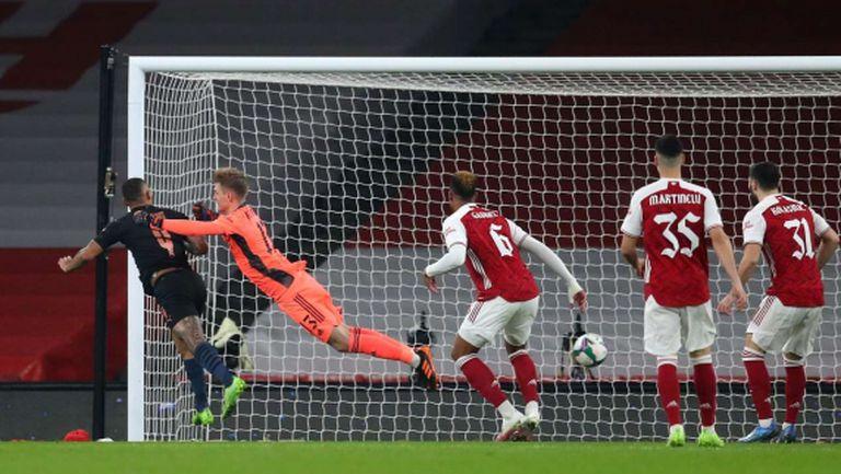 Манчестър Сити прегази Арсенал и продължава защитата на Купата на Лигата