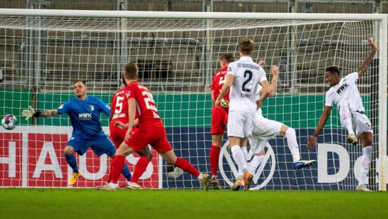 РБ Лайпциг победи като гост Аугсбург и е на осминафинал за Купата на Германия