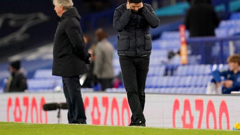 Микел Артета: Във всеки мач на Арсенал стават странни неща