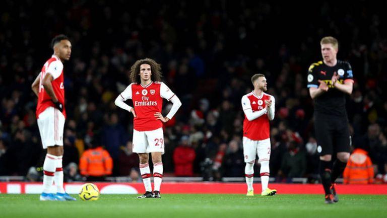 Арсенал ни е конкурент за оцеляване, убедени са от Уест Бромич
