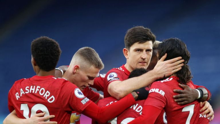 Манчестър Юнайтед не спечели срещу Лестър, но постави нов рекорд във Висшата лига