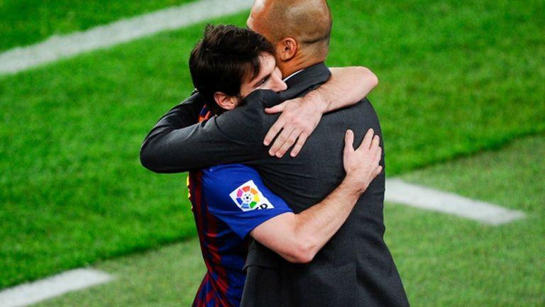Меси: Гуардиола и Луис Енрике са най-добрите треньори
