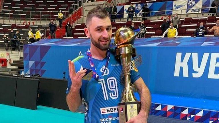 Цветан Соколов спечели отново Купата на Русия (видео + снимки)