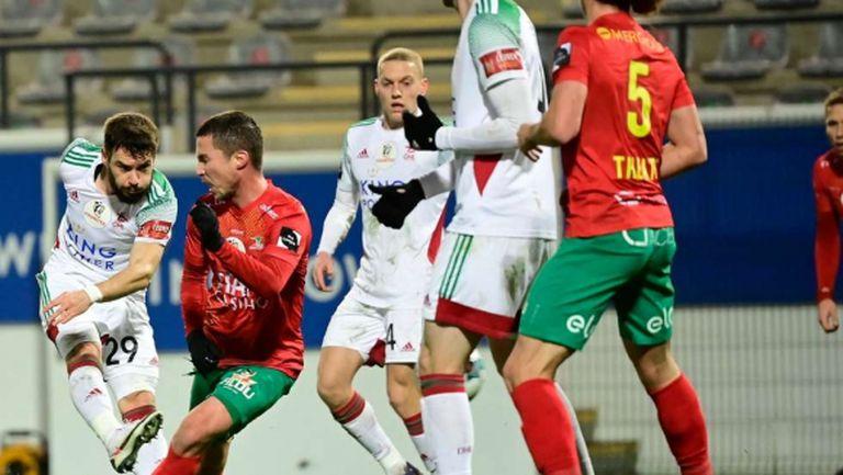 Малинов с първи гол за Льовен