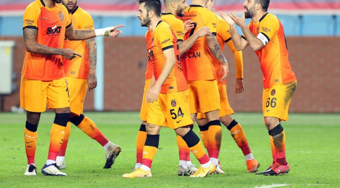 Галатасарай спечели дербито с Трабзонспор и поведе в класирането